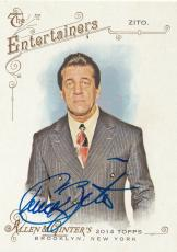 Chuck Zito Signed 2014 Topps Allen & Ginter Card #287 Sons of Anarchy Oz Auto'd