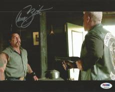Chuck Zito Signed 8x10 Photo PSA/DNA COA Sons of Anarchy Picture Hells Angels 4