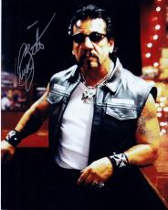 Chuck Zito Signed 8x10 Photo w/COA Sons of Anarchy #1