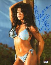 Chyna Signed WWE Playboy 11x14 Photo PSA/DNA COA Wrestling Picture Autograph 15
