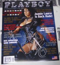 Chyna Signed WWE Playboy 16x20 Photo PSA/DNA COA January 2002 Magazine Poster