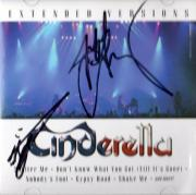 Cinderella Autographed Signed Extended Versions CDC UACC RD COA AFTAL