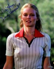 Cindy Morgan Autographed Caddyshack 11x14 Photo Inscribed Lacey Underall