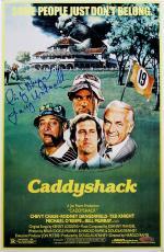 Cindy Morgan Autographed Caddyshack 11x17 Movie Poster