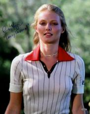 Cindy Morgan Autographed Caddyshack Close-Up 16x20 Photo Inscribed Lacey Underall