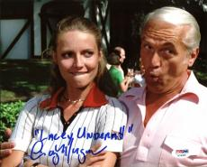 """Cindy Morgan Caddyshack """"Lacey Underall"""" Signed 8X10 Photo PSA/DNA 4"""