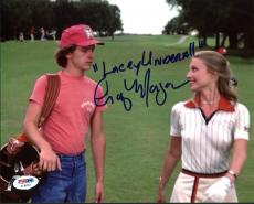 """Cindy Morgan Caddyshack """"Lacey Underall"""" Signed 8X10 Photo PSA/DNA 6"""