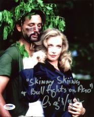 Cindy Morgan Caddyshack Signed 8X10 Photo w/ Bill Murray PSA/DNA 8