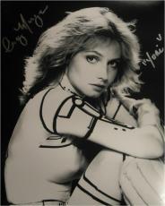Cindy Morgan Signed Photo - 11x14 Caddyshack Yori BW