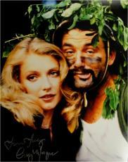 Cindy Morgan Signed Photo - 11x14 Caddyshack Yori Jungle