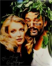 Cindy Morgan Signed Photo - 11x14 Caddyshack Yori Jungle