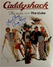 Cindy Morgan Autographed Photograph - 11x14 Caddyshack Yori Snobs VS Slobs