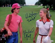 Cindy Morgan & Michael O'Keefe Autographed Caddyshack 11x14 Photo