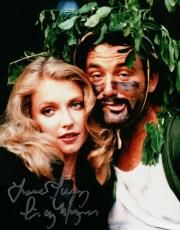 Cindy Morgan Signed 8X10 Photo Autograph Caddyshack w/Bill Murray Inscribed COA