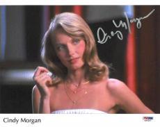 Cindy Morgan Autographed Photo - Authentic 8x10 PSA DNA) #S34387