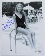 Signed Cindy Morgan Photo - Authentic 8x10 PSA DNA) #S34391