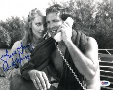 Cindy Morgan Autographed Photograph - Authentic 8x10 PSA DNA) #S34393