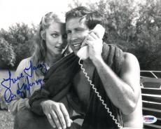 Cindy Morgan Autographed Photograph - Authentic 8x10 PSA DNA) #S34393