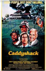 Cindy Morgan Autographed Picture - Caddyshack 11x17 Movie Poster w Lacey Underall In Blue)