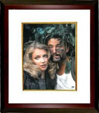 Cindy Morgan signed Caddyshack 16x20 Photo Custom Framed w/ Bill Murray (entertainment)- Steiner Hologram
