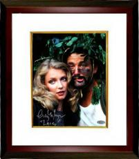 "Cindy Morgan signed Caddyshack 8X10 Photo Custom Framed ""Lacey"" w/ Bill Murray (entertainment)- Steiner Hologram"