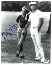 Autographed Cindy Morgan Photograph - Caddyshack Authentic 8x10 PSA DNA #S34386