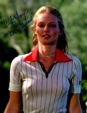 Autographed Cindy Morgan Photograph - Caddyshack In White Shirt 11x14 w Lacey Underall