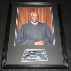 Clarence Thomas Signed Framed 11x14 Photo Poster Display