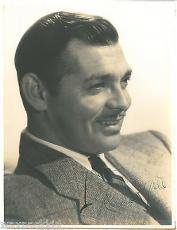 Clark Gable Signed 10x13 Autographed Vintage Photograph Gone with the Wind