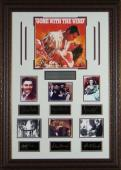 Clark Gable unsigned Gone With the Wind Vintage Movie 7 Cast Photo Engraved Signature Series Leather Framed 33X24 (entertainment