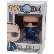 Clark Gregg Agents Of Shield Autographed #53 Agent Coulson Funko Pop! - JSA
