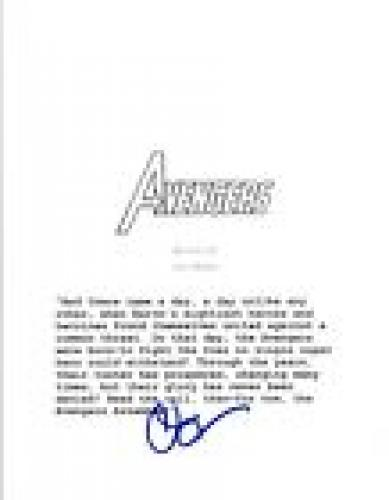 Clark Gregg Signed Autographed AVENGERS Full Movie Script COA VD