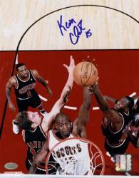 """Denver Nuggets Keon Clark Autographed 8"""" x 10"""" Photo"""
