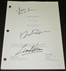 Clash of the Titans Autographed Script by Sam Worthington, Liam Neeson, and Ralph Fiennes