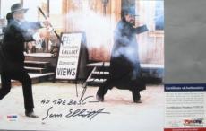 CLASSIC!!! Kurt Russell Sam Elliott Signed TOMBSTONE 8x10 Photo #1 PSA/DNA Wyatt