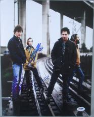 CLASSIC!!! SOUNDGARDEN Band Signed 11x14 Photo CHRIS CORNELL +3 PSA/DNA LOA