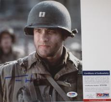 CLASSIC!!! Tom Hanks Signed SAVING PRIVATE RYAN 8x10 Photo #1 PSA/DNA Nice Graph