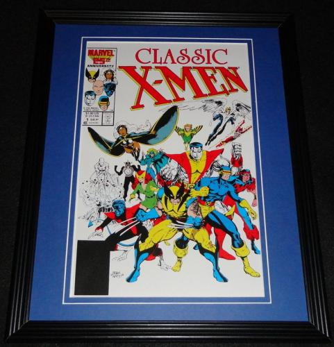 Classic X Men #1 Framed Cover Photo Poster 11x14 Official Repro