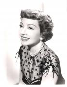 """CLAUDETTE COLBERT - Movies Include """"IT HAPPENED ONE NIGHT"""", """"PRIVATE WORLDS"""", and """"SINCE YOU WENT AWAY"""" (Passed Away 1996) Signed 8x10 B/W Photo"""