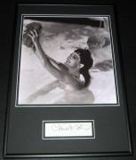 Claudette Colbert SEXY Signed Framed 12x18 Photo Display Sign of the Cross