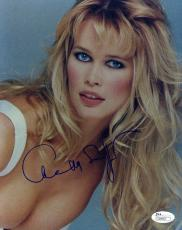 Claudia Schiffer Jsa Authenticated Signed 8x10 Photo Autograph