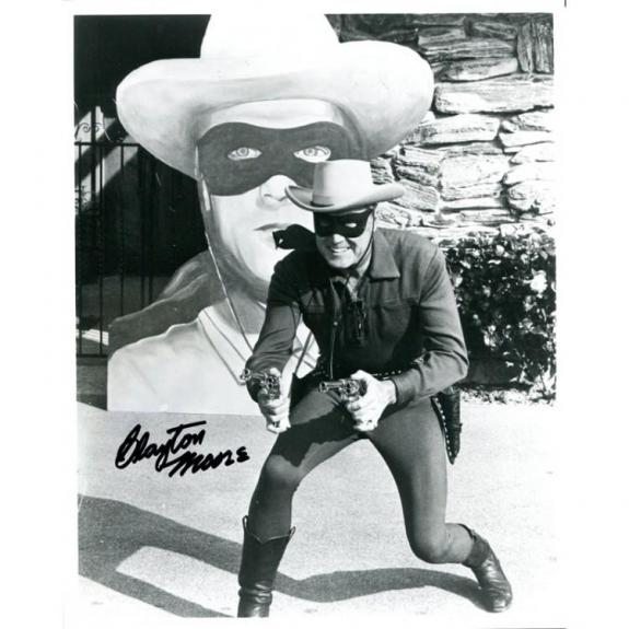 Clayton Moore Autographed 8x10 Photo