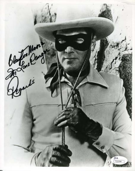 CLAYTON MOORE Hand Signed JSA COA 8x10 Photo Autographed Authentic LONE RANGER