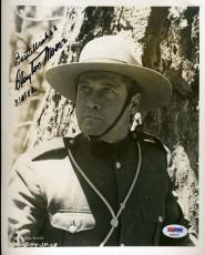 CLAYTON MOORE Hand Signed PSA DNA COA 8x10 Photo Autographed Authentic