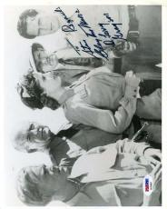 CLAYTON MOORE Hand Signed PSA DNA COA 8x10 Photo Autographed DR LARRY GRAYSON