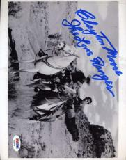 CLAYTON MOORE Hand Signed PSA DNA COA LONE RANGER 8x10 Photo Autograph Authentic