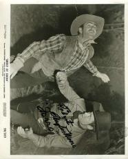 CLAYTON MOORE Hand Signed PSA DNA COA ZORRO 8x10 Photo Autographed Authentic
