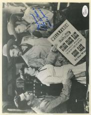 Clayton Moore Jesse James Jsa Coa Hand Signed 8x10 Photo Authenticated Autograph