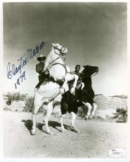 Clayton Moore Jsa Certed Autograph 8x10 Hand Signed Photo Authentic Lone Ranger