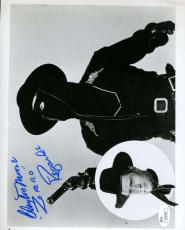 Clayton Moore Jsa Coa Autograph 8x10 Hand Signed Photo Authenticated Zorro
